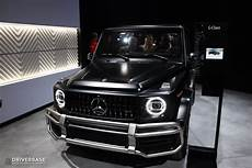 2020 mercedes amg g class suv at the 2019 new york