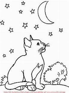 Ausmalbilder Katze Mit Babys Ausmalbilder Katzenbabys 132 Malvorlage Katzen