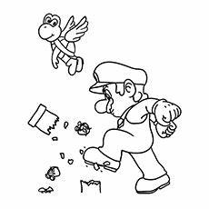 top 20 free printable mario coloring pages