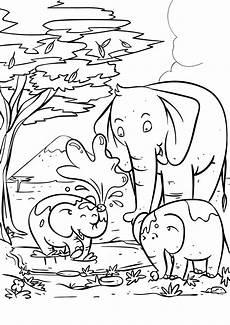 elefanten ausmalbilder genial gallery of malvorlagen