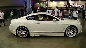 CUSTOM Bentley Continental GT BODY KIT 22 Forgiatos 20