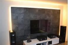 idee tv wand aus laminat home design wand