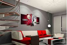 Home Decor Ideas For Grey Walls by 2019 Painted Hi Q Modern Wall Home Decorative