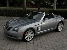 chrysler crossfire cabrio 2005 chrysler crossfire limited convertible for sale in