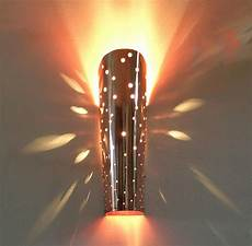 handmade contemporary polished copper sprinkle wall light