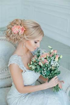 Bridal Updos With Flower