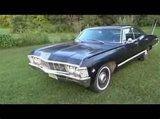 1967 Impala Supernatural 4 Dr Hardtop Black 67 Chevy