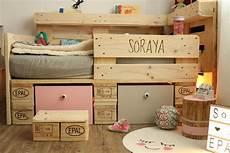 ᐅ Palettenbett F 252 R Kinder Kinderbett Aus Europaletten