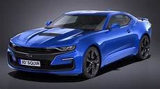 lowpoly chevrolet camaro ss 2019