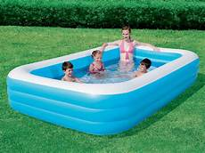 piscine gonflable rectangulaire piscine gonflable bestway deluxe ibeam rectangulaire 305 x