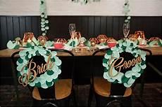 diy paper leaf garland fun unique wedding decor ideas