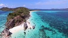 coron palawan malcapuya island from the air youtube