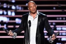 Vin Diesel Sings To Paul Walker During Award Acceptance