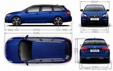 Peugeot 308 308 Sw Gt Dimensions Ext 233 Rieures Et