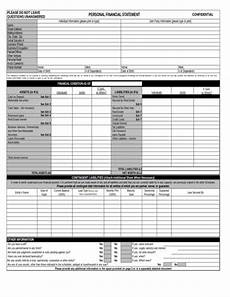 13 personal financial statement sles templates