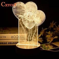 aliexpress com buy led 3d table l bedside led night light for baby desk l romantic