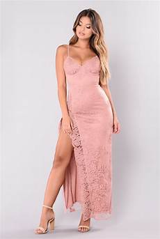a night in tokyo lace dress mauve