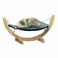 gifi panier chien hamac pour chat en pin et polyester panier pour chien et chat panier et coussin animalerie