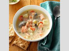 dilly cream of salmon soup_image