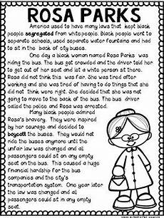 rosa parks black history month by sunny and bright in primary tpt