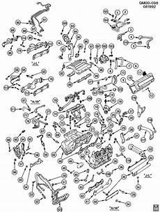1994 buick century engine diagram buick century gasket intake to exhaust manifold manifold to cylinder 10078991