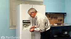 Kitchenaid Refrigerator Troubleshooting Water Dispenser by Refrigerator Repair Replacing The Water Dispenser