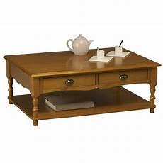Table Basse Pin Miel Rectangle De Style Anglais Beaux