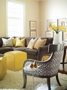Wohnzimmer In Grau - 29 stylish grey and yellow living room d 233 cor ideas digsdigs