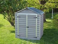 abri et jardin abri de jardin polycarbonate quot skylight quot 2 8 m 178 gris