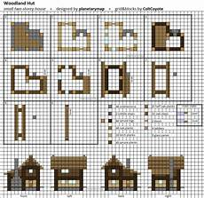 minecraft house plans step by step woodland hut small minecraft house blueprint minecraft