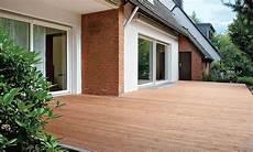 Terrasse Aus Douglasien Holzdielen Selbst De