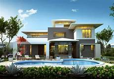 house 3d interior exterior design rendering modern home designs