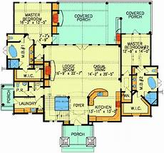 house plans with two master suites dual master suites plus loft 15801ge architectural