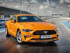 Wallpaper Ford Mustang GT Fastback Yellow 2018 4K