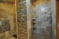 bad fliesen naturstein tile shower ideas affecting the appearance of the space