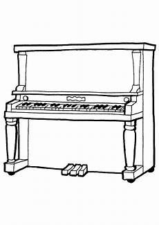 piano klavier ausmalbilder malvorlagen 100 kostenlos