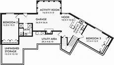 ranch house plans daylight basement house plans sloping lot