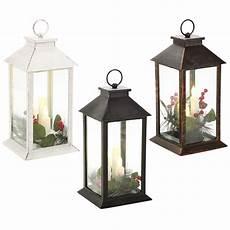 lanterne a candela natale led lanterna con candela shabby chic ladina