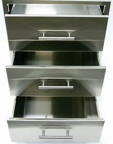 Kitchen Drawers Stainless Steel by Stainless Steel 3 Drawer Outdoor Insert Outdoor Kitchens