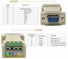 rs232 to rs485 converter 4752 sunrom electronics technologies