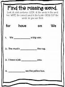 kindergarten language arts worksheet by the creative blessing tpt