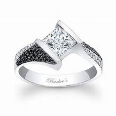 black and white wedding rings wedding and bridal inspiration