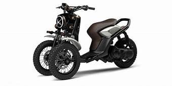 Yamaha D&233voile L'ADN De Son Futur Trois Roues  Scooter