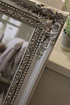 after painted mirror in autentico metallic silver with dark brown wax detail tablescapes
