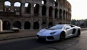Video Lamborghini Aventador LP700 4 At Rome Launch