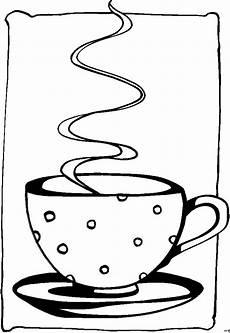 heisser kaffee ausmalbild malvorlage nahrung