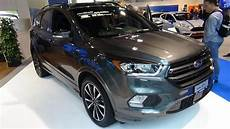 kuga st line 2017 ford kuga st line exterior and interior z 252 rich
