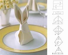 The Of Folding Napkins For Easter Decorating Creative