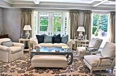 art deco contemporary blue and white living room