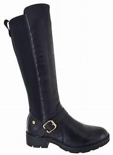weite schuhe damen womens elastic wide calf flat buckle